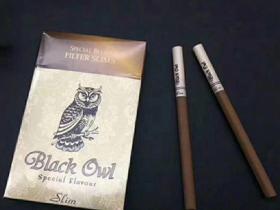 black owl猫头鹰外烟 (细支)