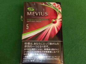 mevius日免七星樱桃爆外烟