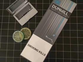 dunhill登喜路薄荷爆外烟