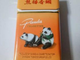 出口五包黄熊猫香烟
