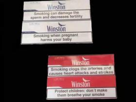 欧盟winston红云斯顿香烟
