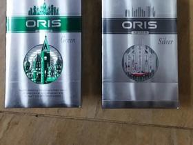 oris豪利时绿色侧推外烟