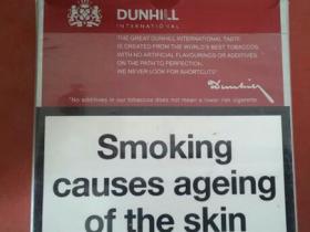 欧盟国际版红扁登喜路香烟