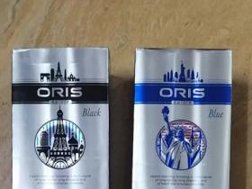 oris豪利时蓝色侧推香烟