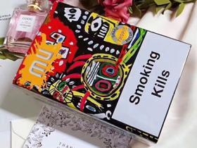 欧盟mu铁盒摇摇乐柠檬爆外烟