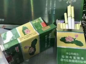 木盒细支荷花香烟