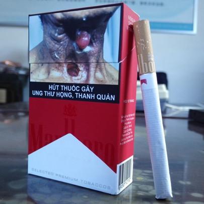 marlboro越南万宝路标红万外烟