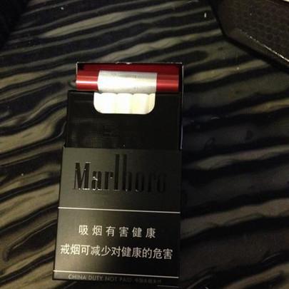 marlboro中免万宝路顶级黑外烟
